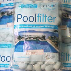 FIBALON® replaces the sand or cartridge of your pool filter