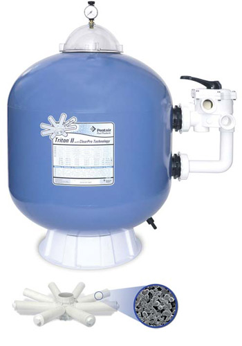 Pentair Triton 2 ClearPro sand filter