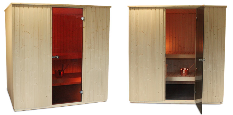 Detail Harvia Basic Line steam sauna