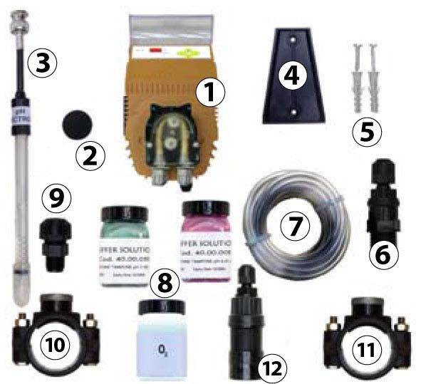 HC 100 pH regulating dosing pump kit