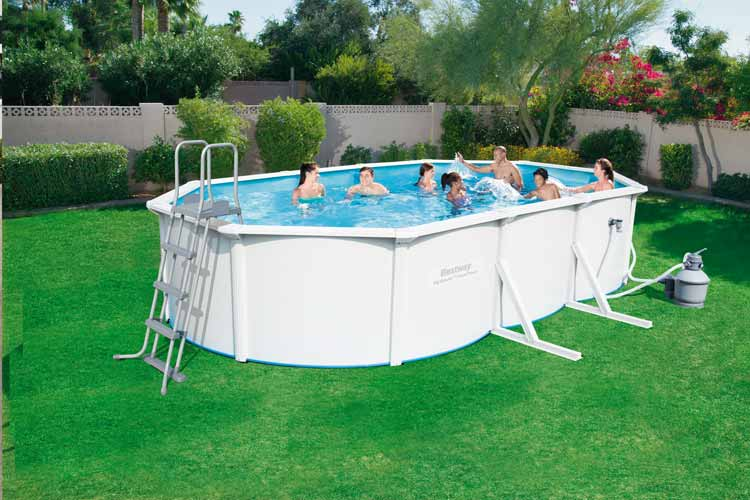 Bestway HYDRIUM Oval above ground pool