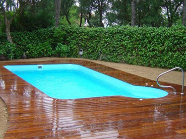 BARAHONA 610 polyester shell pool