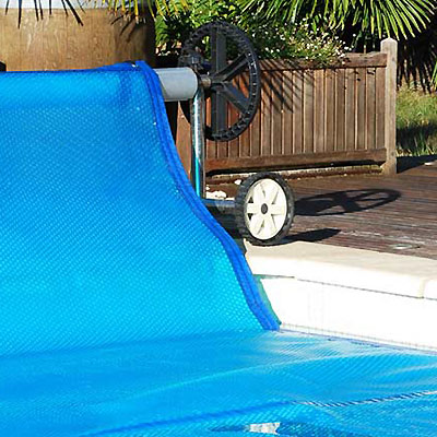 Made to measure summer pool cover
