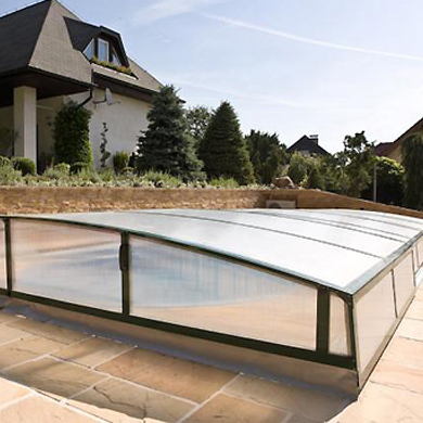 MAJESTIC low pool enclosure