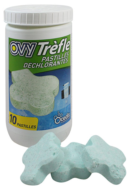 Ovy Trefle dechlorination tablet