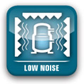 Low noise level in operation Teddington Nova Standard ambient pool dehumidifier