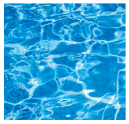 Blue polyester shell pool