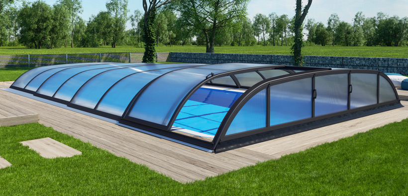 Allure pool enclosure