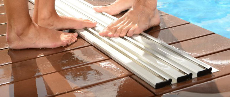 Safe rails around your pool area