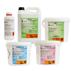 ABATIK chemical water treatment pack