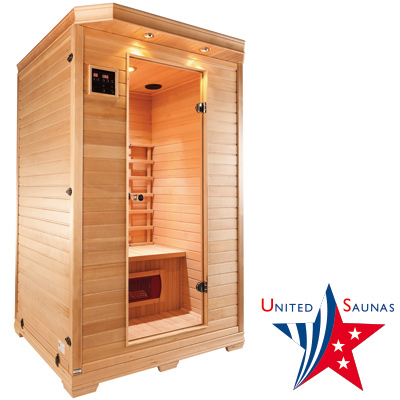 KENTUCKY 2 place infrared sauna