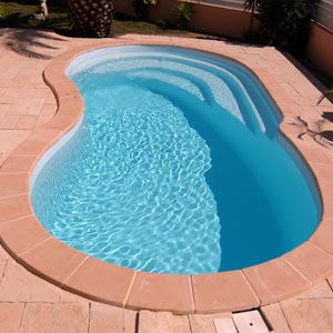 Polyester shell pools
