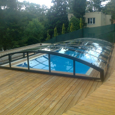 MIRAGE pool enclosure
