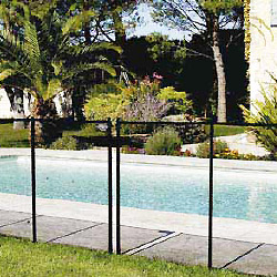 NORA flexible protective pool barrier