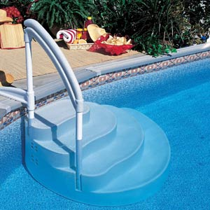 Removable pool steps for all pool types