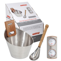 Stainless steel sauna kit