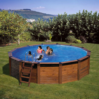 Wooden pools - in or above ground