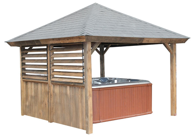 Pyramid roof Gazebo