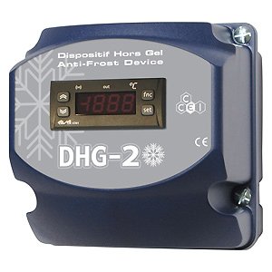 DHG 2 frost protection box
