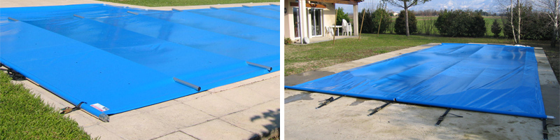 Safety One barred pool cover
