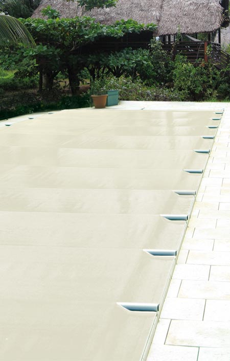 Cover premium barred pool cover