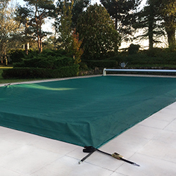 WINTER ROLL net protection for pool shutters