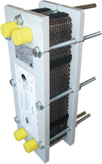 Zodiac URANUS heat exchanger