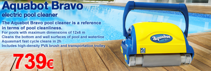 Aquabot Bravo electric pool cleaner