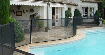 BEETHOVEN pool fencing module 1 m - standard colour
