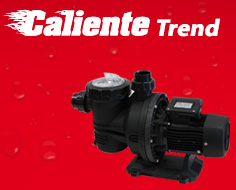 Caliente Trend pool filtration pump 1,5 HP single-phase