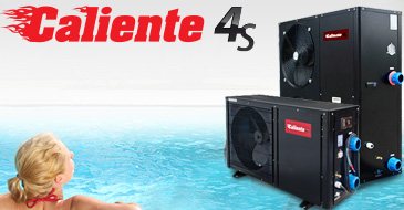 CALIENTE 55 BLACK EDITION 4S heat pump - 6.5kw for pool 15-30m3