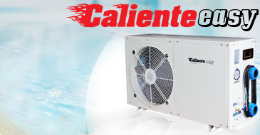CALIENTE EASY heat pump 6 - 6kw for pools 15-30m3