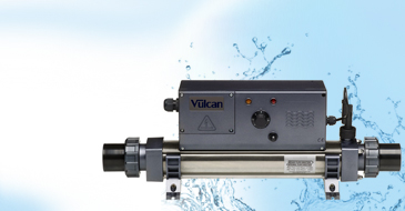 ELECRO VULCAN Titanium analogical pool heater 3-kW single-phase max volume pool 20 m³