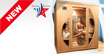 Colorado 4 places infrared sauna