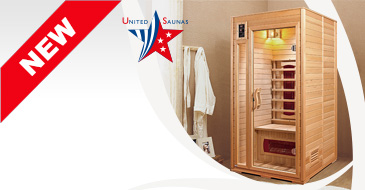 NEVADA 1 place infrared Sauna