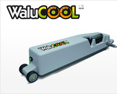 Motorised crank WALU COOL for barred covers